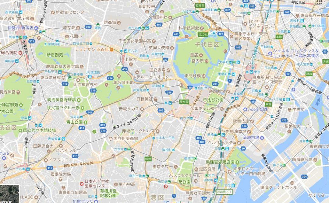 Googleマップのキャプチャ画像